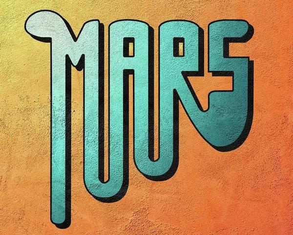 Digital Art - Mars by Thomas Olsen