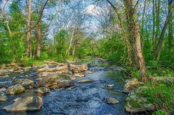 Wall Art - Photograph - Marsh Creek Near Gettysburg Battlefield by Bill Cannon