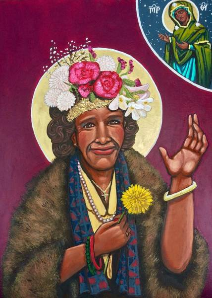 Painting - Marsha P. Johnson  by Kelly Latimore