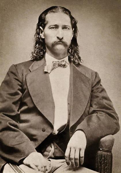 Wall Art - Photograph - Marshal James Butler Hickok - Abilene C. 1871 by Daniel Hagerman