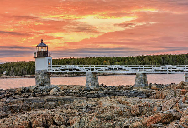 Photograph - Marshall Point Light by Kyle Lee