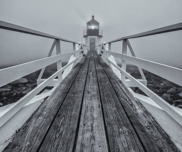 Photograph - Marshall Point Lighthouse by Rob Davies