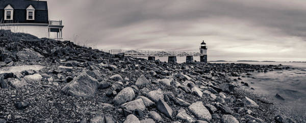 Photograph - Marshall Point Monochrome by ProPeak Photography