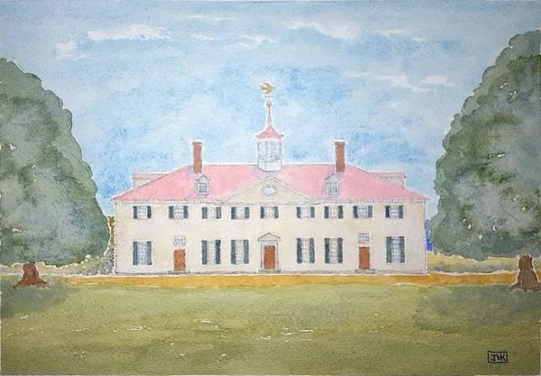 Wall Art - Painting - Martha's House Of Lore by John Klobucher