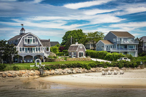 Photograph - Architecture In Marthas Vineyard Series 7218 by Carlos Diaz