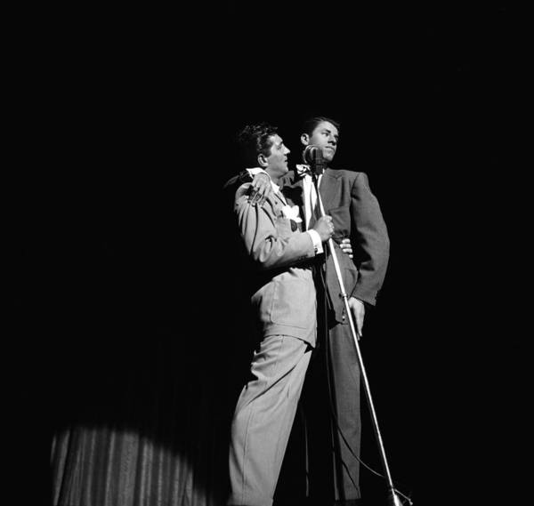 Photograph - Martin And Lewis At The Paramount by Donaldson Collection