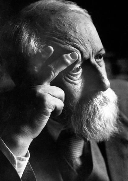 Philosophy Photograph - Martin Buber by Paul Schutzer