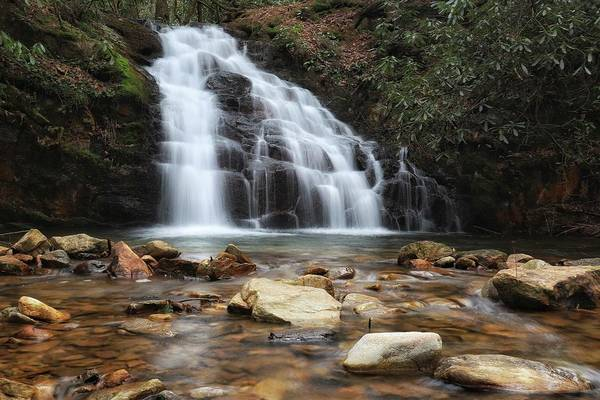 Photograph - Martin Creek Falls by Chris Berrier