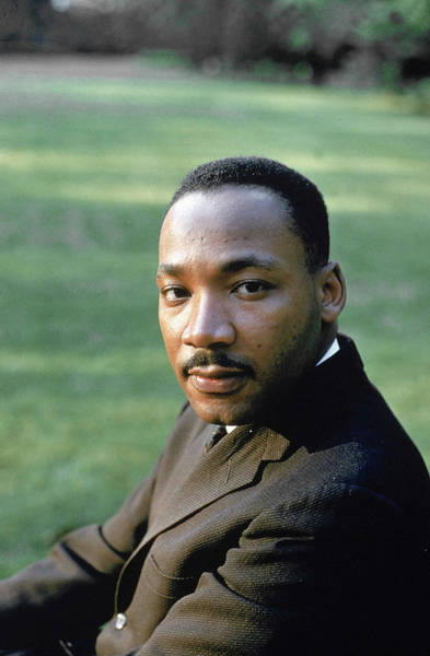 Photograph - Martin Luther King Jr by Howard Sochurek