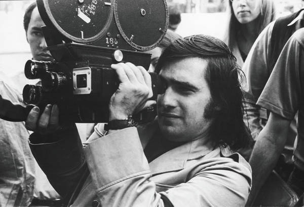 Photograph - Martin Scorsese Behind The Camera by Fred W. McDarrah