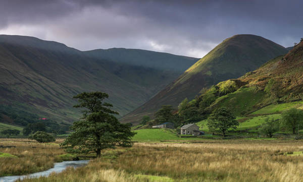 Pooley Bridge Wall Art - Photograph - Martindale, Cumbria. by Antony Rowlands