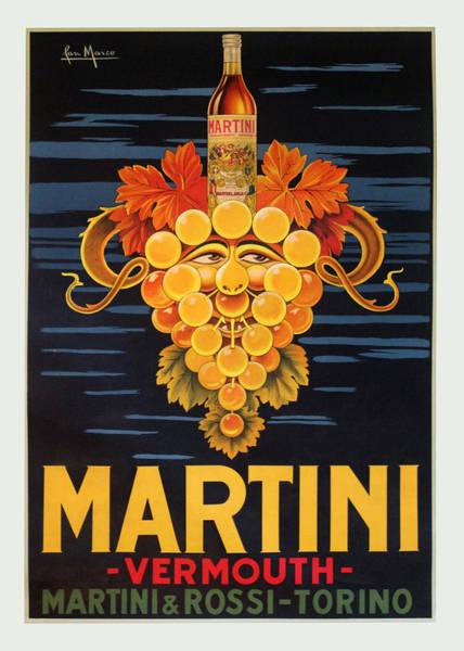 Digital Image Digital Art - Martini Vermouth by Gary Grayson