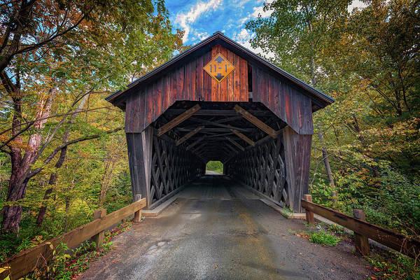 Photograph - Martin's Mill Covered Bridge by Rick Berk