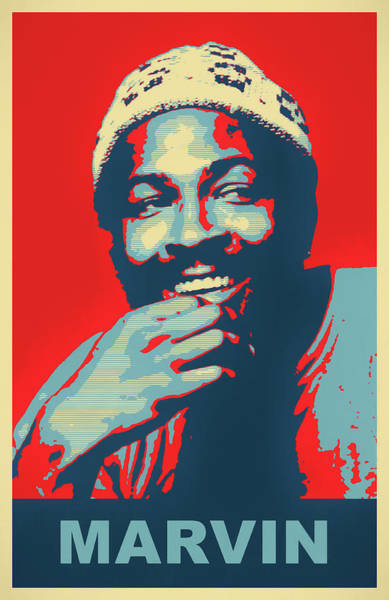Wall Art - Painting - Marvin Poster by Dan Sproul