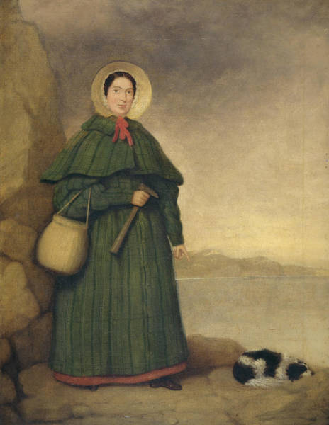 Painting - Mary Anning 1799-1847 by The Natural History Museum