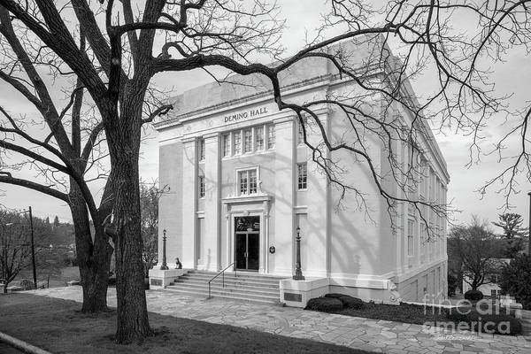 Photograph - Mary Baldwin University Deming Hall by University Icons