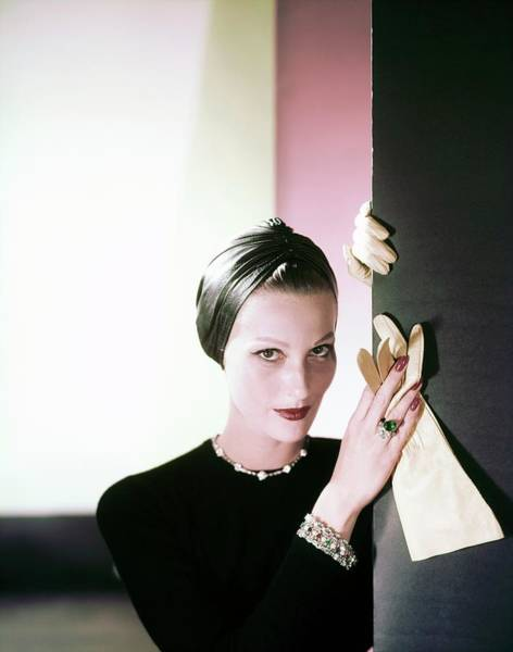 Photograph - Mary Jane Russell In Cartier by Horst P. Horst