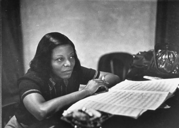 William And Mary Photograph - Mary Lou Williams by W. Eugene Smith