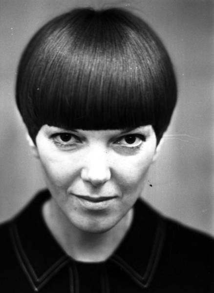 Headshot Photograph - Mary Quant by Ronald Dumont