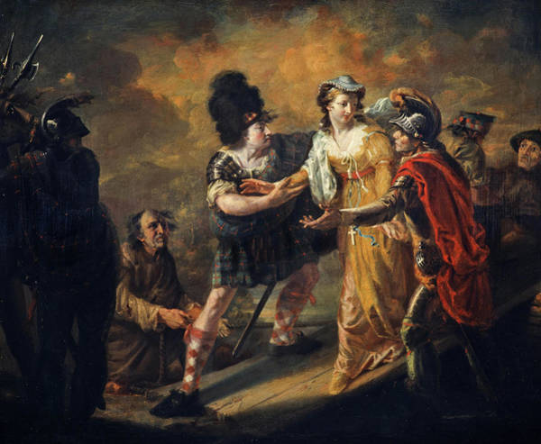 Mary, Queen Of Scots Escaping From Lochleven Castle, 1805 Art Print