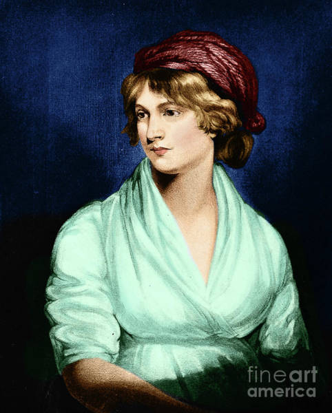 Photograph - Mary Wollstonecraft by Science Source