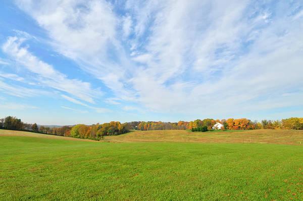 Airy Photograph - Maryland Farm In Fall by Joesboy