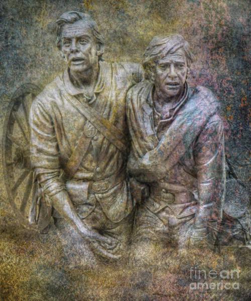 Wall Art - Digital Art - Maryland Monument Gettysburg Battlefield II by Randy Steele