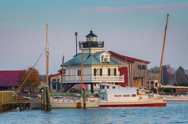 Photograph - Maryland - St Michaels Lighthouse - Chesapeake Bay by Bill Cannon