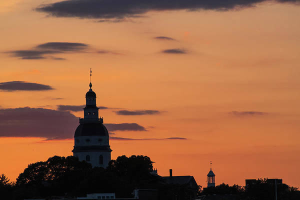 Photograph - Maryland Sunset by Alex Lapidus