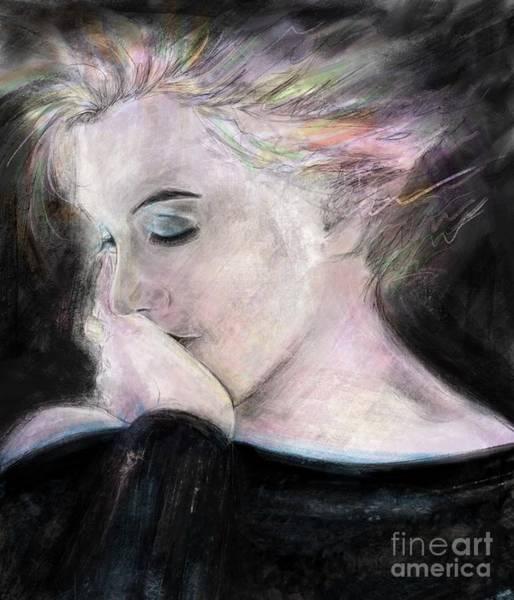 Wall Art - Mixed Media - Marilyn Beauty And Pain by Mark Tonelli