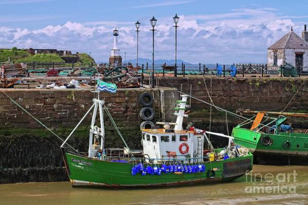 Photograph - Maryport Harbour, Cumbria, England by Martyn Arnold