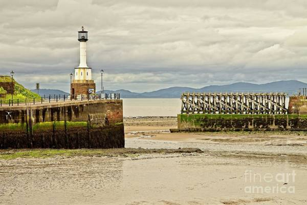 Photograph - Maryport Lighthouse Cumbria by Martyn Arnold