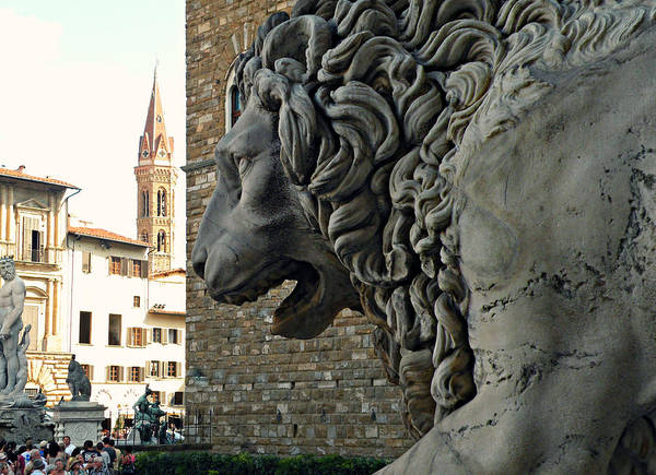 Photograph - Marzocco Di Firenze by Micki Findlay