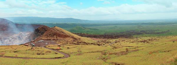 Wall Art - Photograph - Masaya Volcano Crater In Nicaragua by Thepalmer