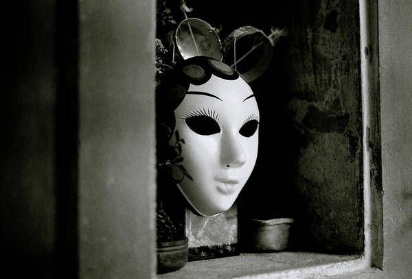 Photograph - Mask In The Window by Shaun Higson