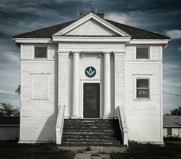 Photograph - Masonic Hall by Bud Simpson