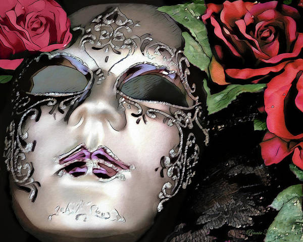 Digital Art - Masquerade by Pennie McCracken