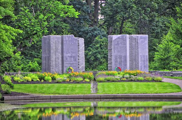 Wall Art - Photograph - Massachusetts Viet Nam War Memorial by Mike Martin