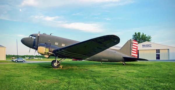 Wall Art - Photograph - Massey Aerodrome Dc-3 by Brian Wallace