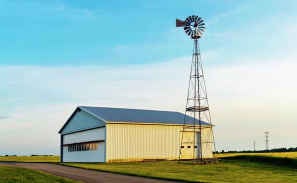 Wall Art - Photograph - Massey Aerodrome Windmill by Brian Wallace