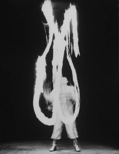 Acrobat Photograph - Massimiliano Truzzi by Gjon Mili