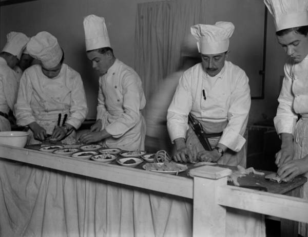 Exhibition Photograph - Master Chefs by Fox Photos
