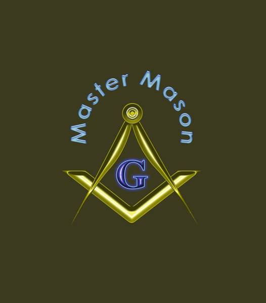 Photograph - Master Mason  - Transparent Background by Reynaldo Williams