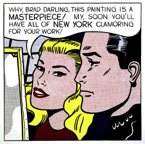 Photograph - Masterpiece By Roy Lichtenstein by Doc Braham - In Tribute to Roy Lichtenstein