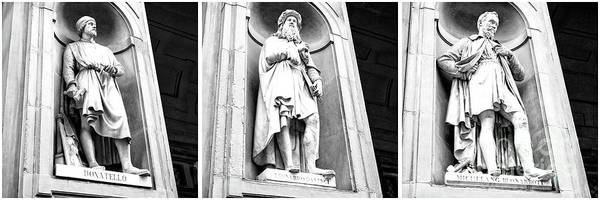 Photograph - Masters Of The Renaissance Triptych Florence by John Rizzuto