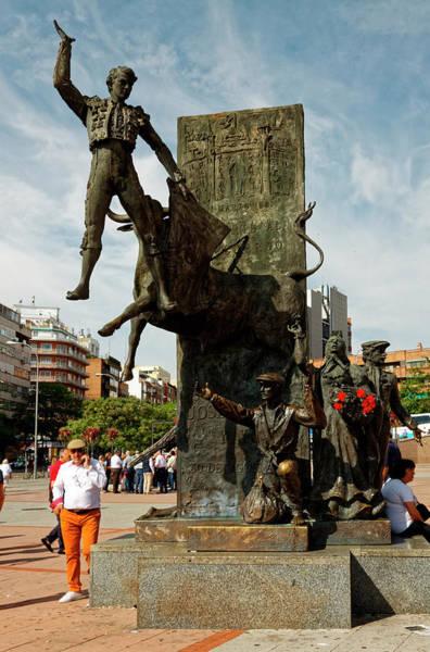 El Toro Photograph - Matador Sculpture by Sally Weigand