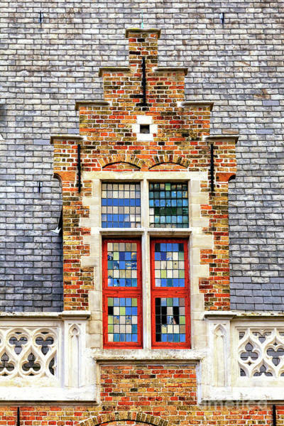 Wall Art - Photograph - Matching Patterns In Bruges by John Rizzuto