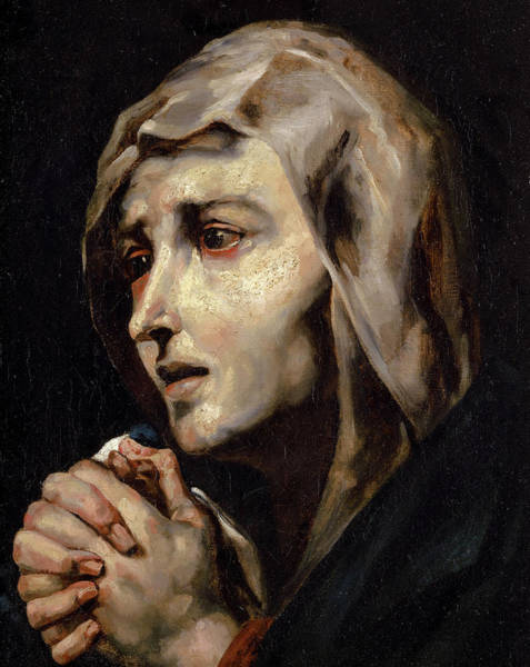 Wall Art - Painting - Mater Dolorosa by Theodore Gericault