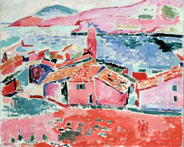 Wall Art - Painting - Matisse, Henri - View Of Collioure by Hermitage Museum