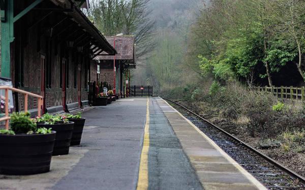 Photograph - Matlock Bath Train Station by Scott Lyons